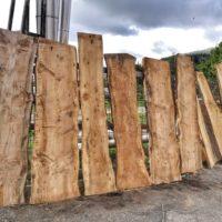 Tavole grezze di cedro