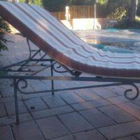 10 lettini da piscina