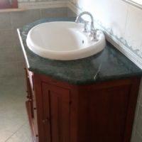 Mobile bagno legno massello